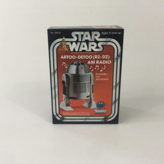 Replacement Vintage Star Wars R2-D2 AM Headset Radio box
