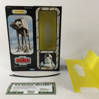 "Custom Vintage Star Wars The Empire Strikes Back 12"" At-AT Driver box and inserts"