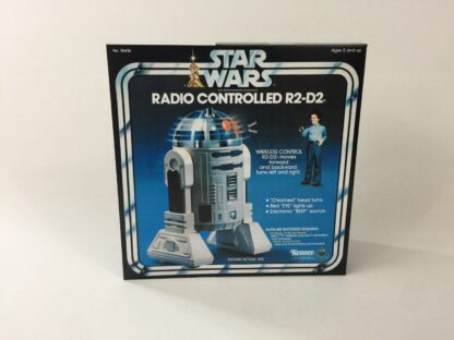 Replacement Vintage Star Wars Kenner Radio Controlled R2-D2 box