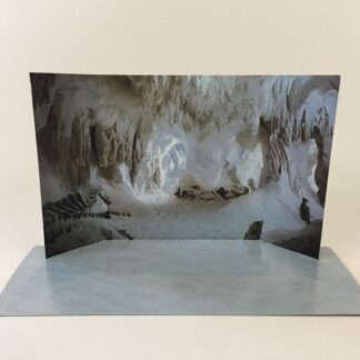 Vintage Star Wars The Empire Strikes Back Hoth Wampa Cave custom backdrop display