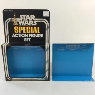 Replacement Vintage Star Wars 3-Pack Series 1 Android Set box and inserts