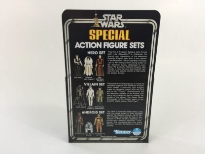 placement Vintage Star Wars 3-Pack Series 1 Hero Set box and inserts