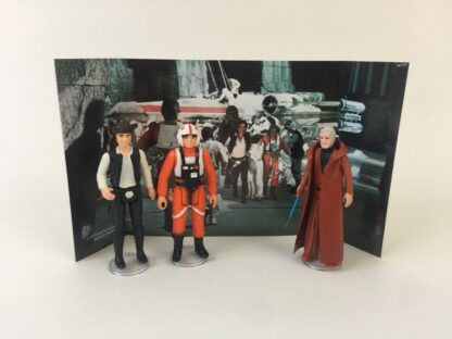 Replacement Vintage Star Wars 3-Pack Series 2 Hero Set backdrop