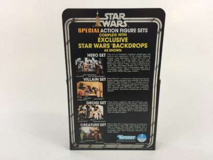 Replacement Vintage Star Wars 3-Pack Series 2 Hero Set box , inserts and backdrop