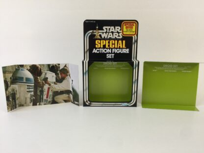 Replacement Vintage Star Wars 3-Pack Series 2 Droid Set box , inserts and backdrop