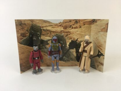 Replacement Vintage Star Wars 3-Pack Series 2 Villain Set backdrop