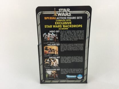 Replacement Vintage Star Wars 3-Pack Series 2 Villain Set box , inserts and backdrop