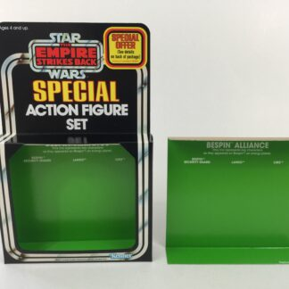 Replacement Vintage Star Wars The Empire Strikes Back 3-Pack Series 1 Bespin Alliance box and inserts