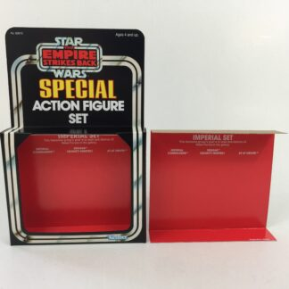 Replacement Vintage Star Wars The Empire Strikes Back 3-Pack Series 2 Imperial Set box and inserts