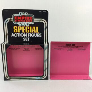 Replacement Vintage Star Wars The Empire Strikes Back 3-Pack Series 3 Rebel Set box and inserts