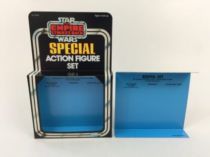 Replacement Vintage Star Wars The Empire Strikes Back 3-Pack Series 3 Bespin Set box and inserts