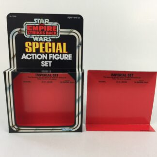Replacement Vintage Star Wars The Empire Strikes Back 3-Pack Series 3 Imperial Set box and inserts