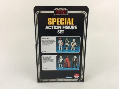 Reproduction Vintage Star Wars The Return Of The Jedi Prototype 3-Pack Rebel Set box and inserts