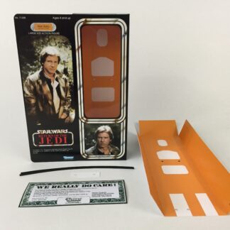 "Custom Vintage Star Wars The Return Of The Jedi 12"" Han Solo Trench Coat box and inserts for the modern figure"