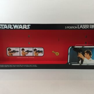 Replacement Vintage Star Wars 3-Position Laser Rifle box and inserts