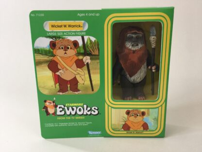 "Custom Vintage Star Wars Ewoks 12"" Wicket W. Warrick Ewok box and inserts"