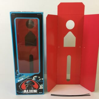 Replacement Vintage Kenner Alien box and inserts