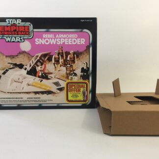 Replacement Vintage Star Wars The Empire Strikes Back Kenner Snowspeeder Special Offer box and inserts