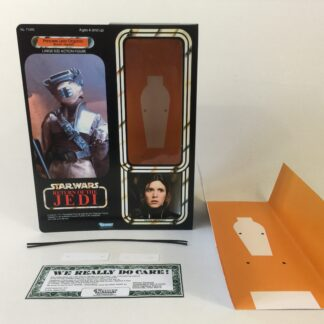 "Custom Vintage Star Wars The Return Of The Jedi 12"" Princess Leia Boushh box and inserts"