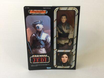 "Custom Vintage Star Wars The Return Of The Jedi 12"" Princess Leia Boushh box and inserts modern version"