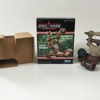 custom vintage star wars power of the force Bola Bomber box and inserts