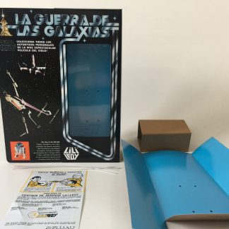 "Replacement Vintage Star Wars 12"" Lili Ledy R2-R2 box and inserts"