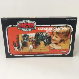 Reproduction Vintage Star Wars The Empire Strikes Back Prototype Creature Cantina box