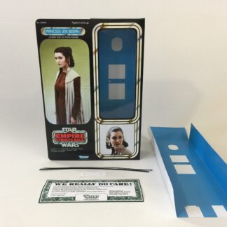 "Custom Vintage Star Wars The Empire Strikes Back 12"" Princess Leia Bespin box and inserts version 1"
