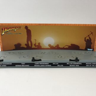 Custom Vintage Kenner Indiana Jones backdrop and name sticker