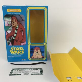 "Custom Vintage Star Wars The Holiday Special 12"" Chewbacca box and inserts"