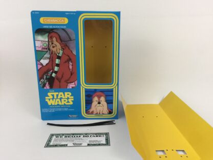 """Custom Vintage Star Wars The Holiday Special 12"""" Chewbacca box and inserts"""