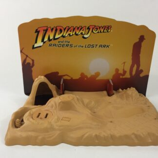 Custom Vintage Indiana Jones backdrop and supports