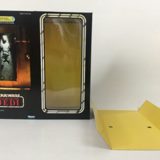 "Custom Vintage Star Wars The Return Of The Jedi 12"" Han Solo In Carbonite box and inserts , box is for carbonite block only"