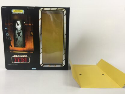 """Custom Vintage Star Wars The Return Of The Jedi 12"""" Han Solo In Carbonite box and inserts , box is for carbonite block only"""