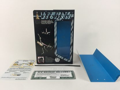 "Replacement Vintage Star Wars 12"" Lili Ledy Jawa box and inserts"