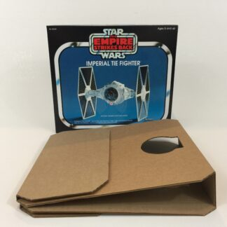 Replacement Vintage Star Wars The Empire Strikes Back Tie Fighter box and inserts
